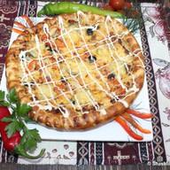 Пицца-кебаб из баранины Фото