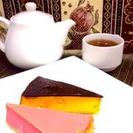 Чизкейк (малина и апельсин с шоколадом) Фото
