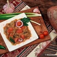 Салат мангал домашний (икра) Фото