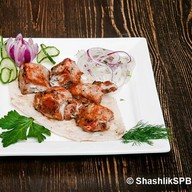 Шашлык из филе курицы Фото