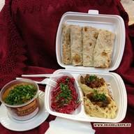 Сытный обед Фото