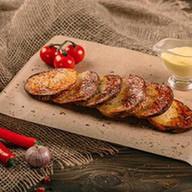 2x Картофель на мангале Фото