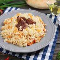Плов узбекский с говядиной Фото