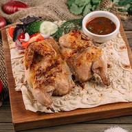 Шашлык из цыпленка на углях Фото
