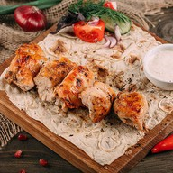 Шашлык из куриного филе Фото