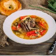 Наваристый суп с бараниной Фото