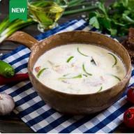 Суп сливочный из семги по-фински Фото