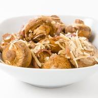 Запечённые грибы в сливочном соусе Фото