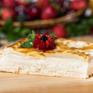 Пирог с творогом Фото