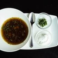 Суп из лесных грибов с перловкой Фото