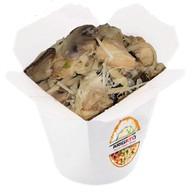 Курица с грибами в сливочном соусе Фото