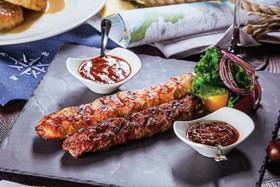 Люля-кебаб из телятины и свинины - Фото
