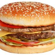 Двойной гамбургер Фото