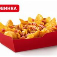 Макфлэйвор фрайз по-деревенски барбекю Фото