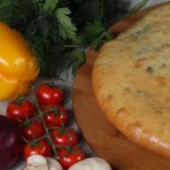 С курицей, сыром и шпинатом Фото