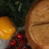 С сыром и зеленью Фото