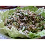 Салат из печени Фото
