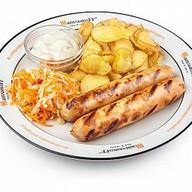 Колбаски чикен-гриль Фото