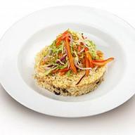 Булгур с овощами пост Фото