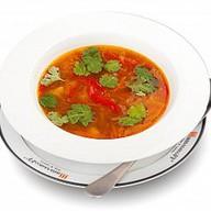 Суп с фасолью пост Фото