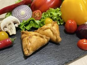 Фуршетные пирожки с курицей и картофелем - Фото