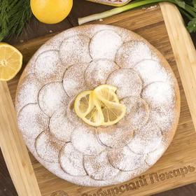 Пирог лимонный - Фото