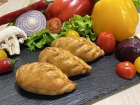 Фуршетные пирожки с кетой и картофелем - Фото
