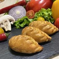 Фуршетные пирожки с кетой и картофелем Фото