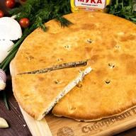 Осетинский пирог с сыром и зеленью Фото