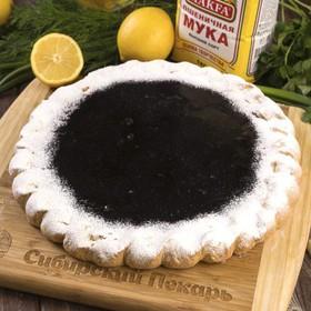 Пирог черничный - Фото