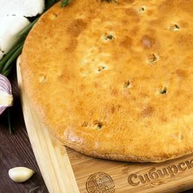 Осетинский пирог со шпинатом и сыром - Фото