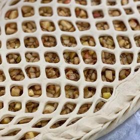Пирог яблоко-корица - Фото