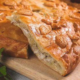 Пирог c курицей и картофелем - Фото