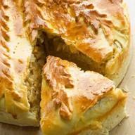 Пирог со свининой рубленой, картофелем Фото
