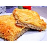 Пирог со свининой рубленой,картофелем Фото