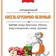 Кисель бруснично-яблочный Фото