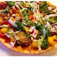 Постная пицца Фото