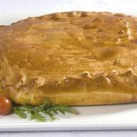 С мясом и картофелем Фото