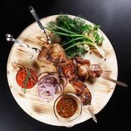 Шашлык из мякоти свинины Фото
