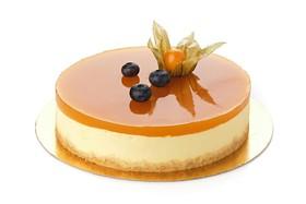 Торт манго-маракуйя (заказ за сутки) - Фото
