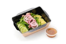 Салат с тунцом и авокадо - Фото