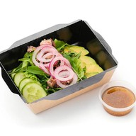 Салат с тунцом и авокадо ПП Фото