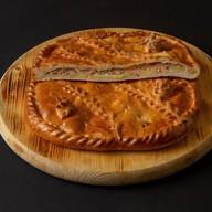Пирог с семгой и картофелем Фото