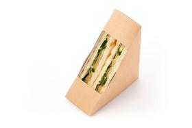 Сэндвич с семгой слабосоленой - Фото