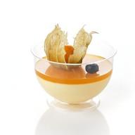 Муссовый десерт Манго-маракуйя Фото