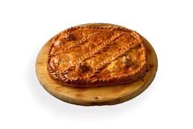 Пирог с семгой (на заказ) - Фото