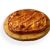 Пирог с муксуном и картофелем (на заказ) Фото