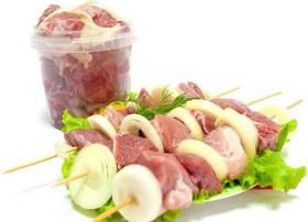 Шашлык из свиной шеи полуфабрикат - Фото