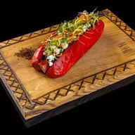 Red hot dog Фото