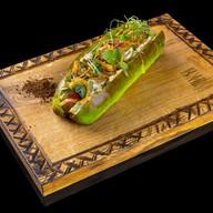 Green hot dog Фото